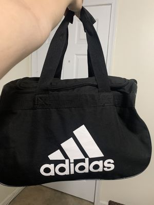 Adidas Black Duffle Bag for Sale in Adelphi, MD