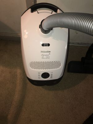 New Miele Olympus vacuum $150 nothing less has everything but long telescope pole this vacuum cost $1200 without telescope I'm selling for $150 thank for Sale in Rockville, MD