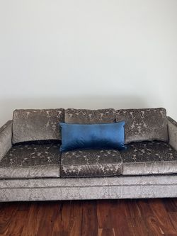 Grey Satin Pull Out Bed for Sale in San Diego,  CA