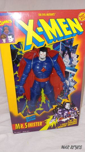 "X-MEN ""MR. SINISTER"" 10 Inch figure by Toy Biz for Sale in Queens, NY"