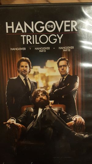 hangover trilogy for Sale in Fontana, CA