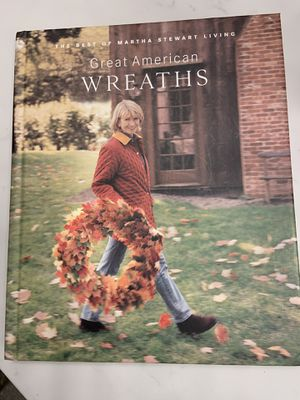 Martha Stewart Great American Wreaths Book for Sale in Orange, CA