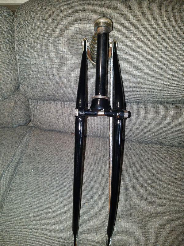 schwinn spring fork 1950