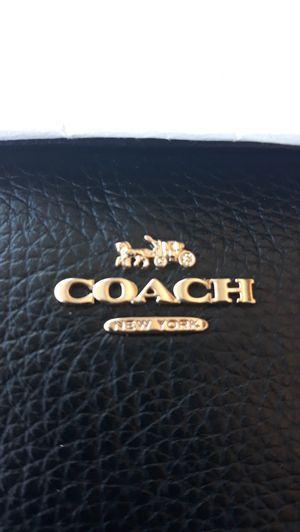 Women's Coach Pebble Leather Crossbody BLACK for Sale in Salt Lake City, UT