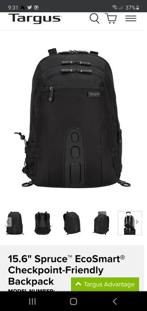 Targus Laptop Backpack for Sale in Dracut, MA