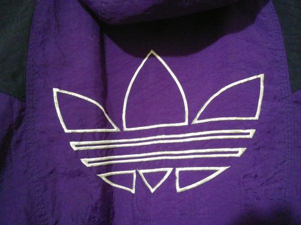 Size Small Vintage Adidas Hooded Jacket