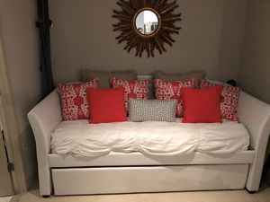 Daybed with trundle & mattress (2) for Sale in Washington, DC