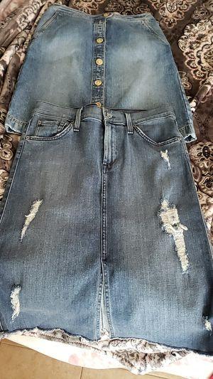 Jean Skirts - Brand New for Sale in Scottsdale, AZ