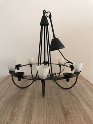Hanging Iron Living Room/Dining Room Lamp & Candle Holder for Sale in Aventura, FL