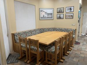 table/ custom breakfast nook for Sale in Glendale, AZ