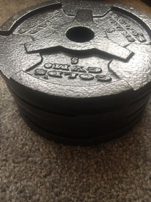5 lb weight plates for Sale in Lutz, FL