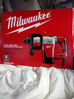 Milwaukee 15lb demolition hammer for Sale in Portland, OR