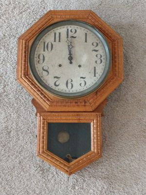 Antique School House Clock made by Ingraham Co. Bristol, CT for Sale in The Villages, FL