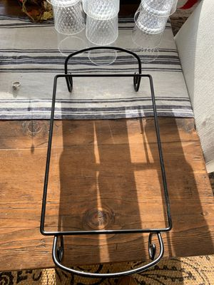 Wrought iron stand for 13X9 dish for Sale in Wenatchee, WA