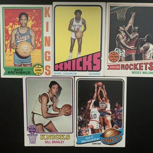 1970s NBA Legends Earl Monroe Moses Malone Bradley Archibald for Sale in Miami, FL