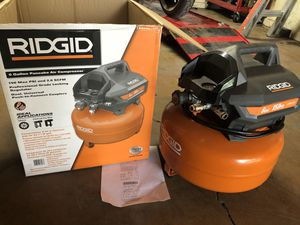 Brand new rigid air compressor 3 YEARS WARRANTY for Sale in San Antonio, TX