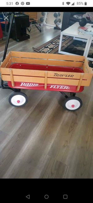 Vintage Radio Flyer Trav-ler Wagon for Sale in Renton, WA