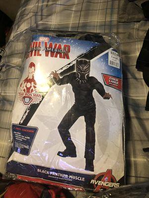Black Panther kids large costume for Sale in Laveen Village, AZ
