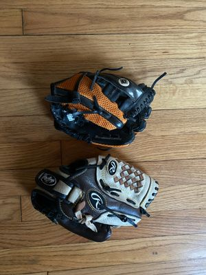 Kids baseball gloves for Sale in Parma Heights, OH