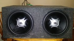 Speaker box with JBL speaker JBL amplifier make me an offer for Sale in Pantego, TX