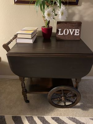Antique serving cart for Sale in Oregon City, OR