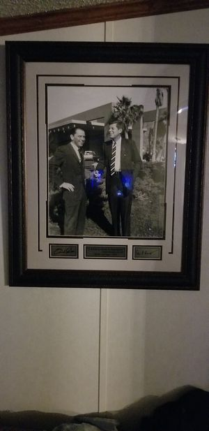 1962 picture of John F. KENNEDY and Frank Senatra for Sale in Columbia, SC