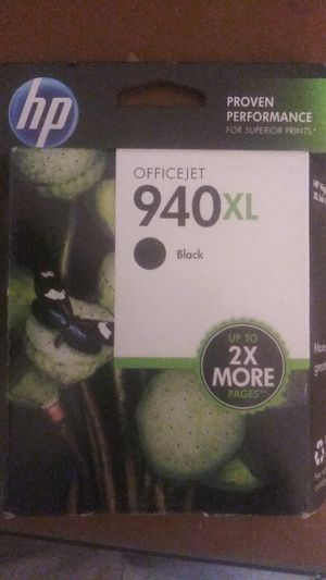 HP 940XL Black Ink for Sale in Odessa, TX