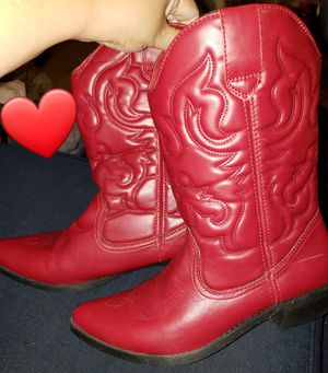 RAMPAGE RED WOMANS BOOTS SIZE 11 for Sale in Glendora, CA