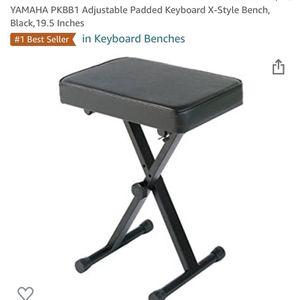 Yamaha Keyboard Bench for Sale in Buford, GA