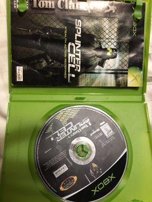 XBOX 360 Splinter Cell video game for Sale in Monroe, WA