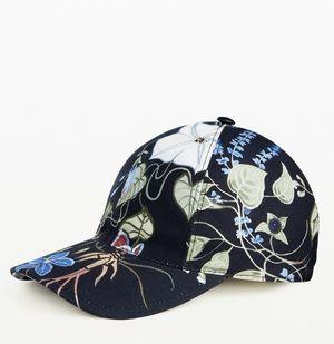 Gucci Black Flora Knight Canvas Baseball Hat Medium M for Sale in Doral, FL