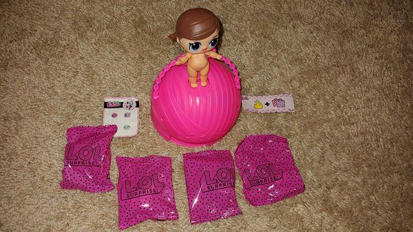 **!**LOL Surprise**!** MAJORETTE series 1 doll **brand new**
