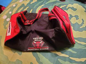 Chicago Bulls Basketball Schools gym bag/ small duffle for Sale in Skokie, IL