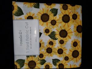 Sunflower fabric for Sale in Dixon, MO