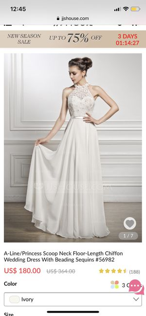 Wedding dress for Sale in Chesterfield, MO