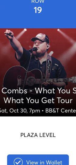 Luke Combs Tickets for Sale in Miami,  FL