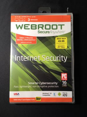 Webroot Internet Security for Sale in Lexington, KY