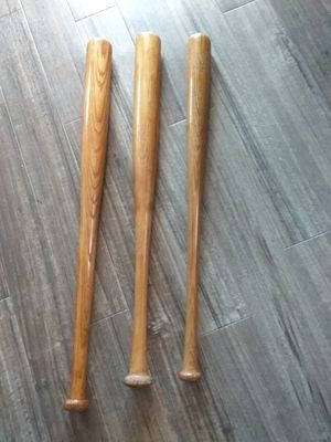 (3) Wood Baseball Bats for Sale in Carlsbad, CA