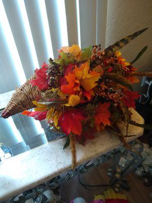 beautiful fall cornucopia for Sale in Pinellas Park, FL