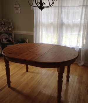 Dining Wood Table for Sale in Burlington, NC