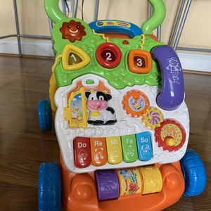 VTech Sit to Stand Learning Walker for Sale in Silver Spring, MD