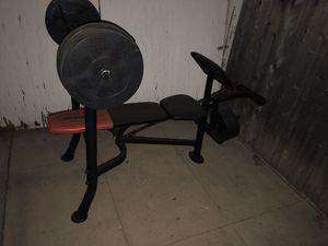 Weider weight set for Sale in Windsor Hills, CA