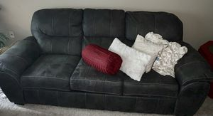 Dark gray couch, loveseat and chair for Sale in Fairfax, VA