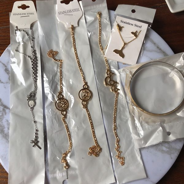 jewelry Lot new stainless steel