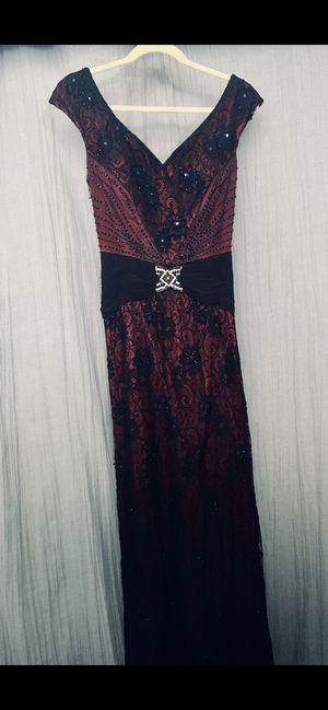 Formal Dress (Maroon & Black) for Sale in Whittier, CA
