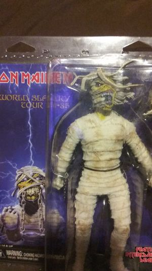 Iron maiden World slavery tour action figure 1984 through 1985 for Sale in Elizabethton, TN