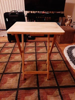 Wooden TV table for Sale in Renton, WA