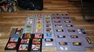 Nintendo 64 games, Sega genesis games, Super Nintendo games. for Sale in Boca Raton, FL