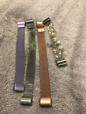 4 Fitbit Charge 2 bands for Sale in Shrewsbury, MA