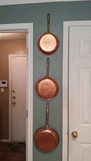 Copper pans for Sale in Round Rock, TX